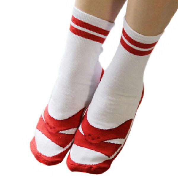 【EST】B&EGG TW RED 經典紅白拖 船型襪 紅 [BE-0003-069] F0310 0