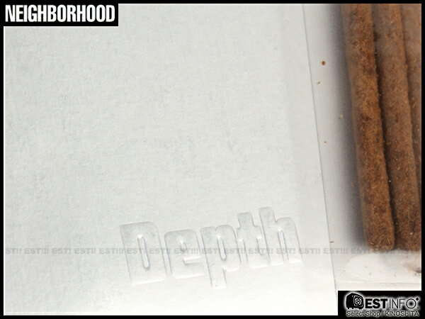 【EST】NEIGHBORHOOD 12 SS NBHD DEPTH 香味 香氛 長 線香 15支 [NBHD-430] C0316 2