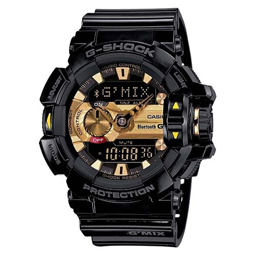 【EST O】G-Shock 雙顯 指針 智慧藍芽 低功耗 手錶 [GBA-400-1A9JF] 黑金 F0327 0