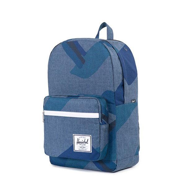 【EST】HERSCHEL POP QUIZ 15吋電腦包 後背包 水墨 藍 [HS-0011-705] F0421 2