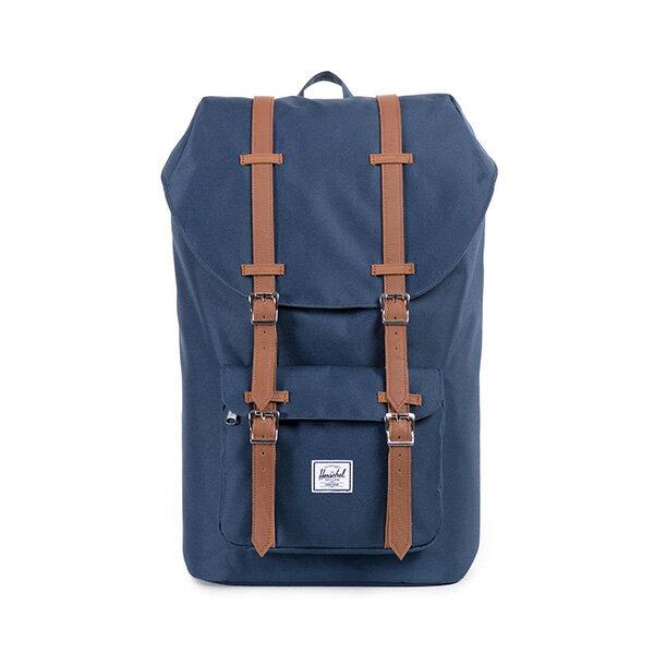 【EST】HERSCHEL LITTLE AMERICA 15吋電腦包 後背包 藍 [HS-0014-007] F0810 0