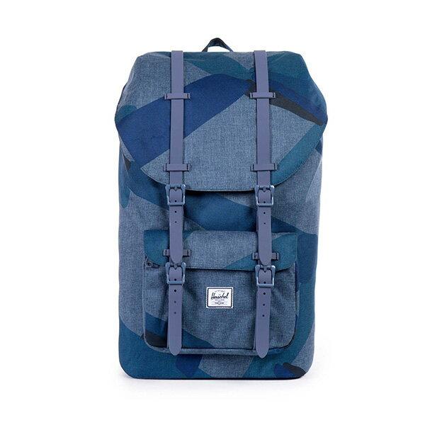 【EST】HERSCHEL LITTLE AMERICA 15吋電腦包 後背包 水墨 藍 [HS-0014-705] F0421 0
