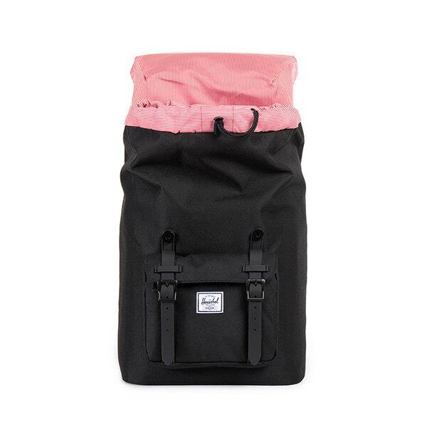 【EST】HERSCHEL LITTLE AMERICA MID 中款 13吋電腦包 後背包 全黑 [HS-0020-155] F0421 1