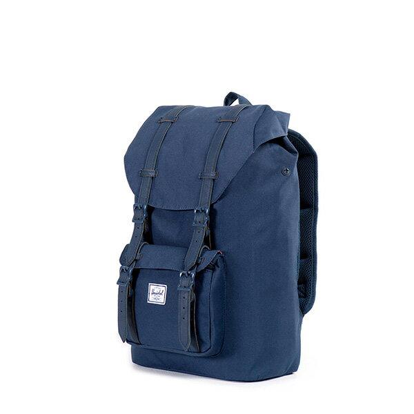 【EST】Herschel Little America Mid 中款 13吋電腦包 後背包 全藍 [HS-0020-534] F0810 2