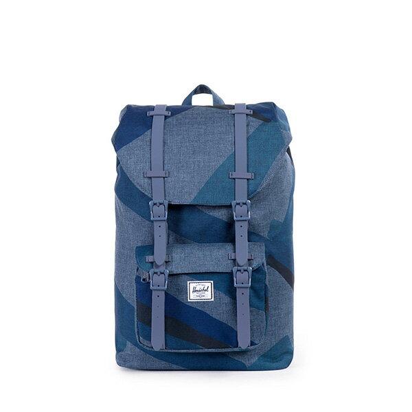 【EST】HERSCHEL LITTLE AMERICA MID 中款 13吋電腦包 後背包 水墨 藍 [HS-0020-705] F0421 0