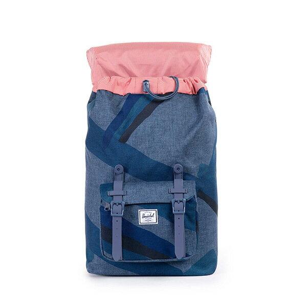 【EST】HERSCHEL LITTLE AMERICA MID 中款 13吋電腦包 後背包 水墨 藍 [HS-0020-705] F0421 1