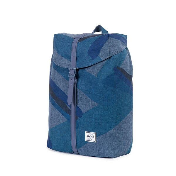 【EST】HERSCHEL POST 尼龍 13吋電腦包 後背包 水墨 藍 [HS-0021-705] F0421 2