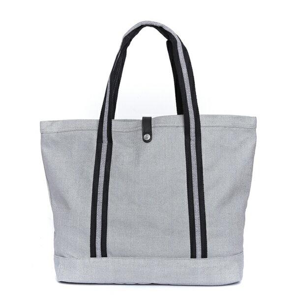 【EST】HERSCHEL MARKET XL 磁扣帶 托特包 購物袋 側背包 肩背包 麻灰 [HS-0030-715] F0429 2