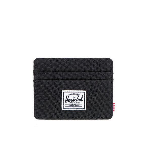 【EST】HERSCHEL CHARLIE 橫式 卡夾 名片夾 證件套 黑 [HS-0045-001] F0421