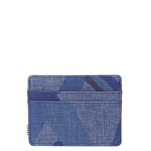 【EST】HERSCHEL CHARLIE 橫式 卡夾 名片夾 證件套 水墨 藍 [HS-0045-705] F0429 1