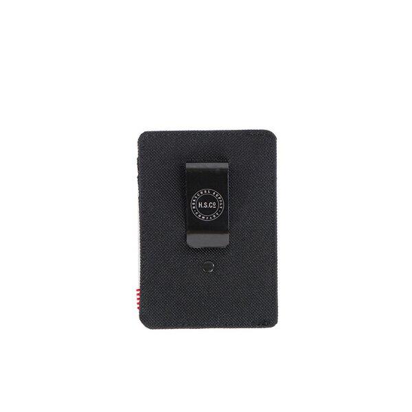 【EST】Herschel Raven Wallet 直式 卡夾 名片夾 證件套 鈔票夾 黑 [HS-0048-001] F0421 1