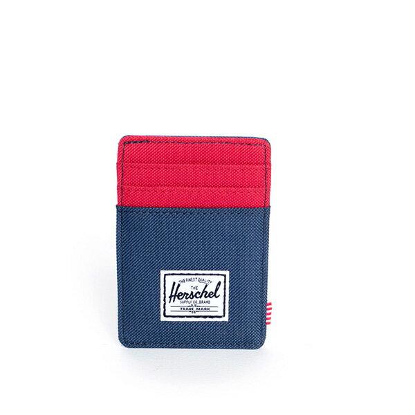 【EST】Herschel Raven Wallet 直式 卡夾 名片夾 證件套 鈔票夾 藍紅 [HS-0048-018] F0421 0
