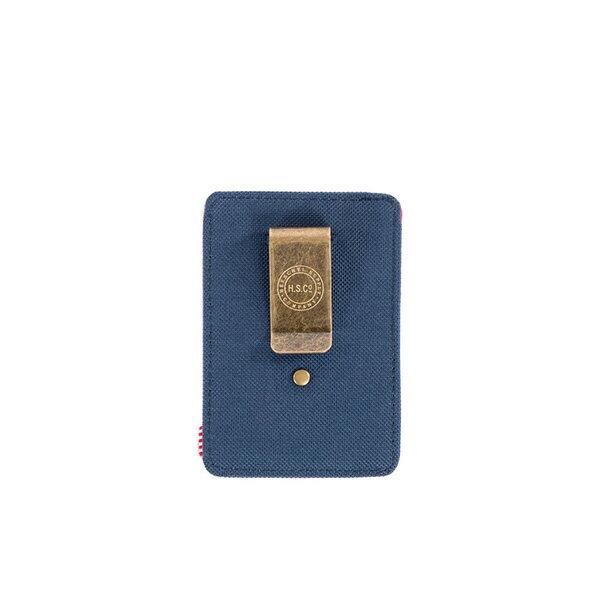 【EST】Herschel Raven Wallet 直式 卡夾 名片夾 證件套 鈔票夾 藍紅 [HS-0048-018] F0421 1