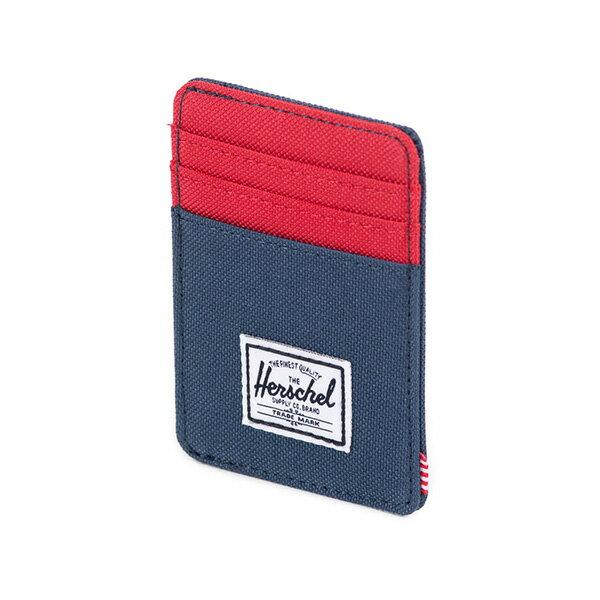 【EST】Herschel Raven Wallet 直式 卡夾 名片夾 證件套 鈔票夾 藍紅 [HS-0048-018] F0421 2