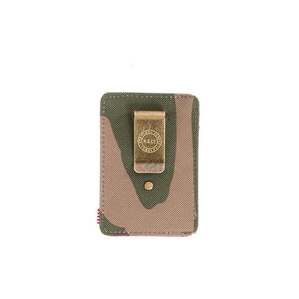 ★整點特賣限時5折★【EST】Herschel Raven Wallet 直式 卡夾 名片夾 證件套 鈔票夾 迷彩 [HS-0048-032] F0421【12/06憑優惠券代碼 SS_20161206。滿888再折100】 1