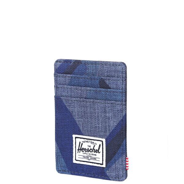 【EST】HERSCHEL RAVEN WALLET 直式 卡夾 名片夾 證件套 鈔票夾 水墨 藍 [HS-0048-705] F0429 2