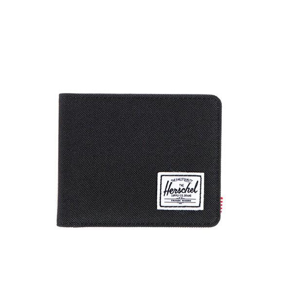 【EST】HERSCHEL HANK WALLET 短夾 皮夾 錢包 黑 [HS-0049-001] F0421 0
