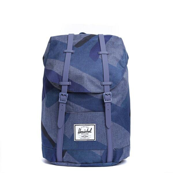 【EST】HERSCHEL RETREAT 15吋電腦包 後背包 水墨 藍 [HS-0066-705] F0429 0
