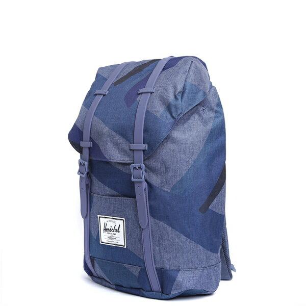 【EST】HERSCHEL RETREAT 15吋電腦包 後背包 水墨 藍 [HS-0066-705] F0429 1