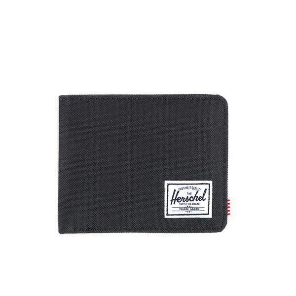 【EST】HERSCHEL ROY WALLET 短夾 皮夾 錢包 黑 [HS-0069-165] F0421