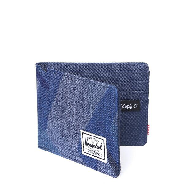 ★整點特賣限時5折★【EST】Herschel Roy Wallet 短夾 皮夾 錢包 水墨 藍 [HS-0069-705] F0429【12/06憑優惠券代碼 SS_20161206。滿888再折100】 1