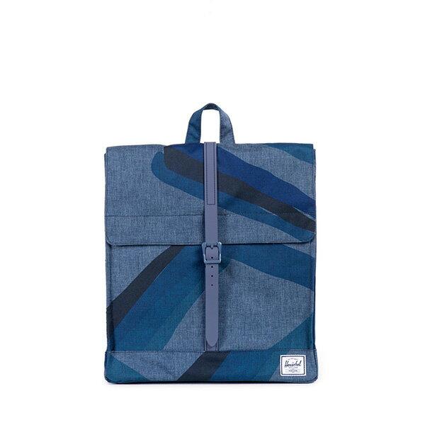 【EST】HERSCHEL CITY 方形 後背包 水墨 藍 [HS-0089-705] F0421 0