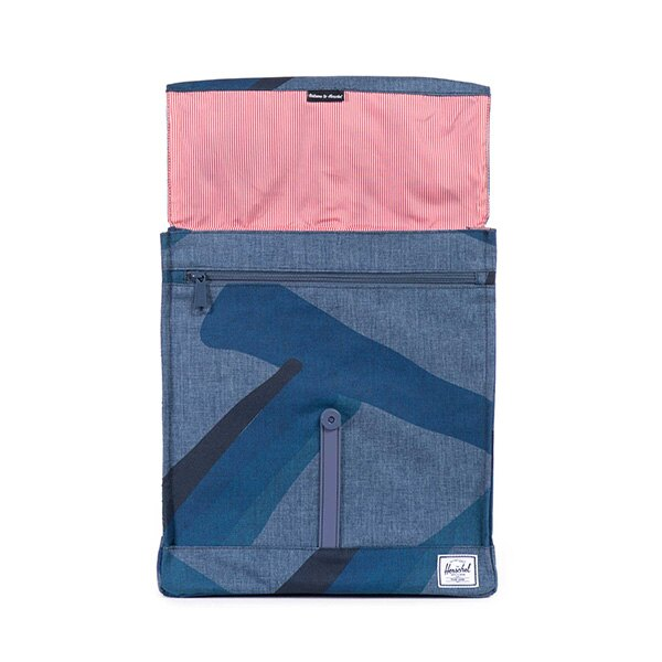 【EST】HERSCHEL CITY 方形 後背包 水墨 藍 [HS-0089-705] F0421 1