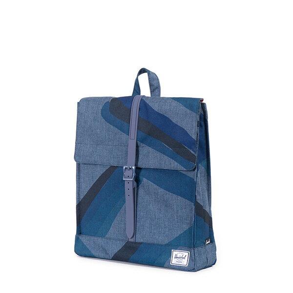 【EST】HERSCHEL CITY 方形 後背包 水墨 藍 [HS-0089-705] F0421 2