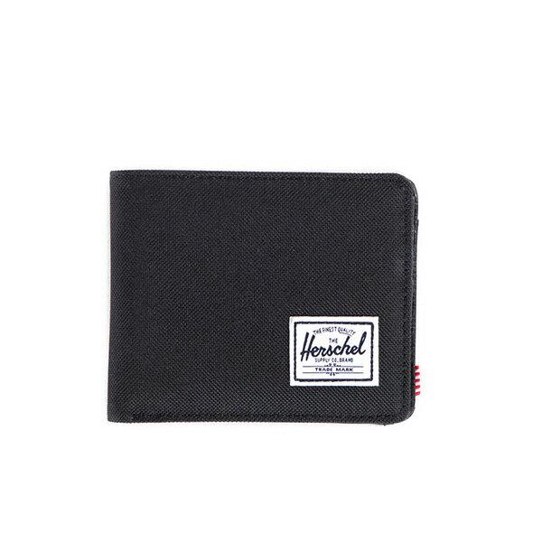 【EST】HERSCHEL HANK COIN WALLET 短夾 皮夾 零錢包 黑 [HS-0149-001] F0421 0