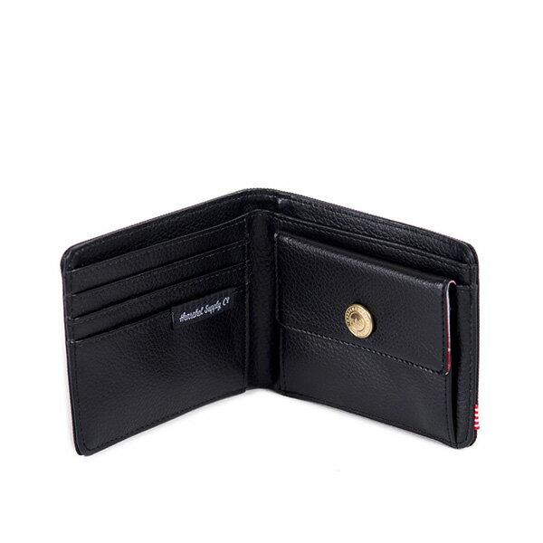 【EST】HERSCHEL HANK COIN WALLET 短夾 皮夾 零錢包 黑 [HS-0149-001] F0421 1