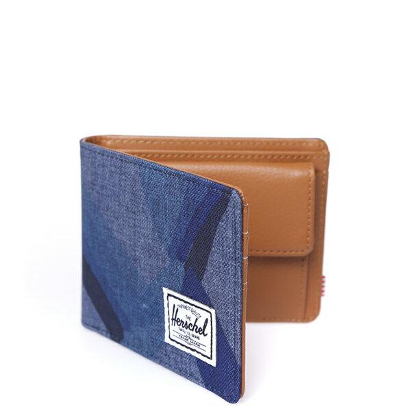 【EST】HERSCHEL HANK COIN WALLET 短夾 皮夾 零錢包 水墨 藍 [HS-0149-705] F0429 1