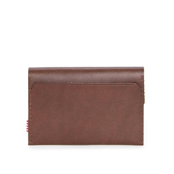 【EST】HERSCHEL JACKS WALLET 皮革 卡夾 零錢包 深咖啡 [HS-0157-639] F0421 1