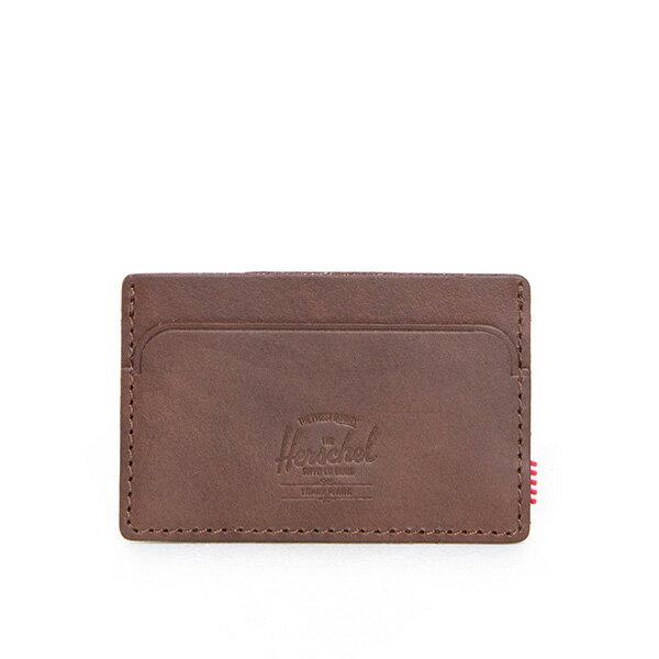 【EST】HERSCHEL FELIX WALLET 皮革 卡夾 鈔票夾 深咖啡 [HS-0159-639] F0421 0