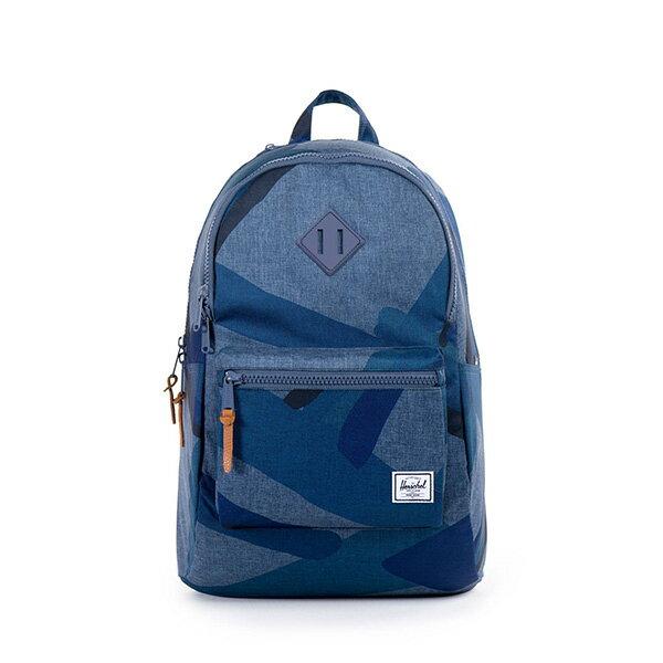 【EST】HERSCHEL LENNOX 電腦包 後背包 水墨 藍 [HS-0181-705] F0421 0
