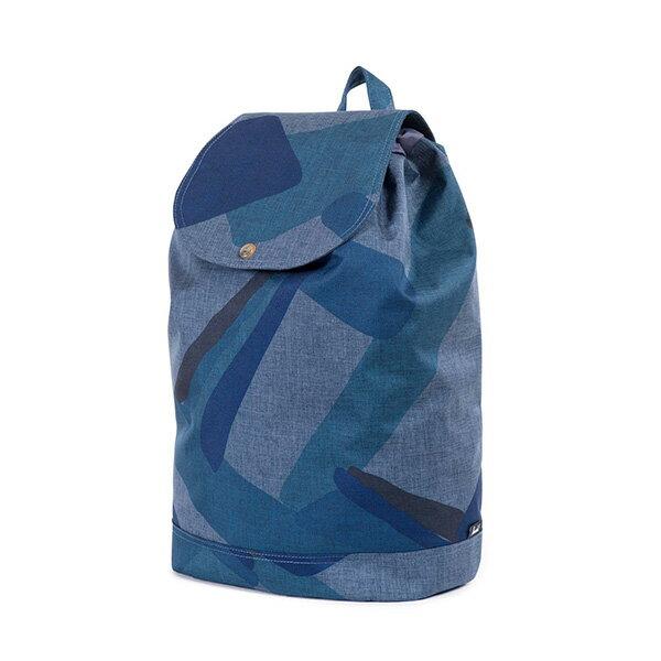 【EST】HERSCHEL REID 束口 扣式 後背包 水墨 藍 [HS-0182-705] F0421 2