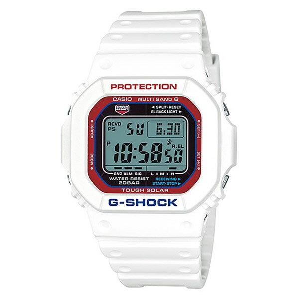 【EST O】G-SHOCK 鋼彈配色 太陽能 防水 運動 潮流 手錶 白紅藍 [GW-M5610TR-7JF] F0601