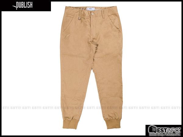 【EST】Publish Legacy Jogger Pants Tan 長褲 工作褲 束口褲 [PL-4049-537] 卡其 W28~36 F0206 1