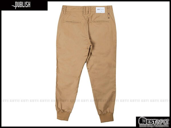 【EST】Publish Legacy Jogger Pants Tan 長褲 工作褲 束口褲 [PL-4049-537] 卡其 W28~36 F0206 2