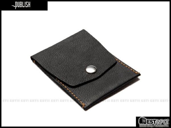 【EST】Publish Berwyn 經典 仿舊 皮革 卡夾 零錢包 小物 [Pl-5053] 黑/咖啡 E0711 0