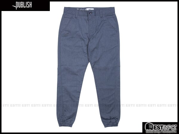 【EST】PUBLISH TAHOMA JOGGER 束口褲 [PL-5063-086] 藍 W28~W34 E0912 0