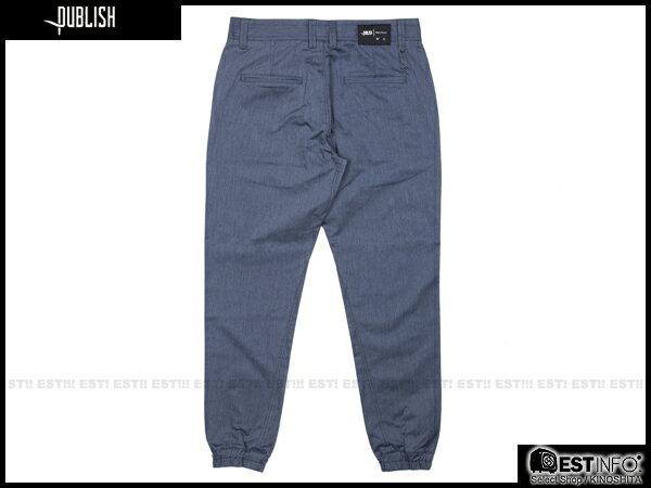 【EST】PUBLISH TAHOMA JOGGER 束口褲 [PL-5063-086] 藍 W28~W34 E0912 1
