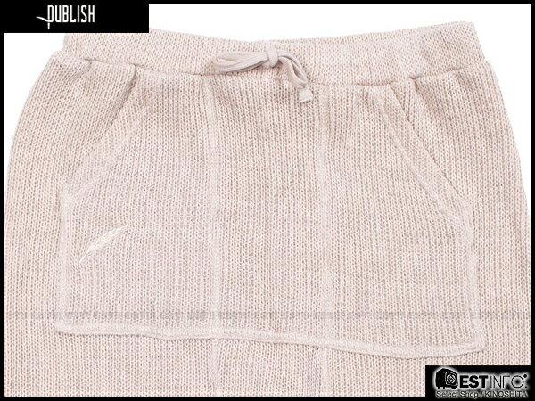 【EST】Publish Thrillo 針織 束口褲 [PL-5065-537] 卡其 W28~W34 E0912 2