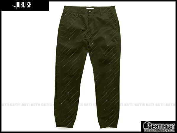 【EST】PUBLISH FLOYD JOGGER 束口褲 [PL-5069-035] 綠 W28~W36 E0912 0