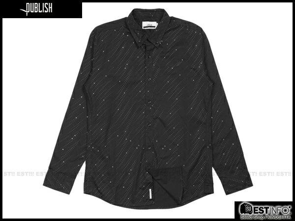 【EST】PUBLISH ARCHBALD SHIRT 點點 襯衫 [PL-5070-002] 黑 S~L E0912 0