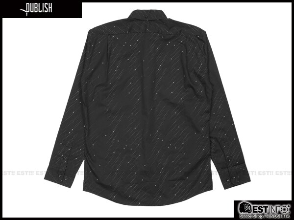【EST】PUBLISH ARCHBALD SHIRT 點點 襯衫 [PL-5070-002] 黑 S~L E0912 1
