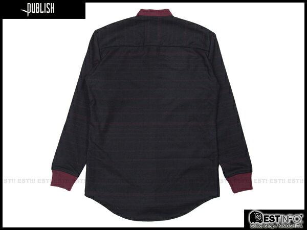【EST】PUBLISH WESS 民族風 厚磅 針織 襯衫 外套 [PL-5071-072] 酒紅 S~L E0912 1
