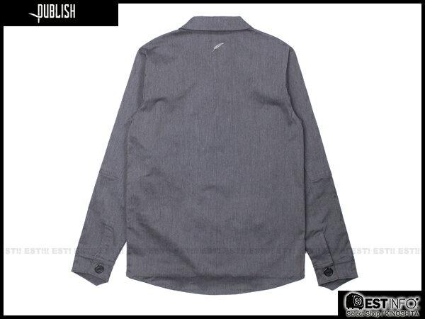 【EST】PUBLISH HAWK 英倫風 厚磅 外套 [PL-5078-165] 深灰 S~L E0912 1