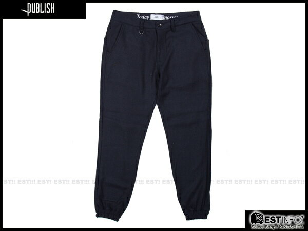 【EST】PUBLISH BRUSWICK JOGGER 束口褲 [PL-5088-165] W28~34 E0930 0