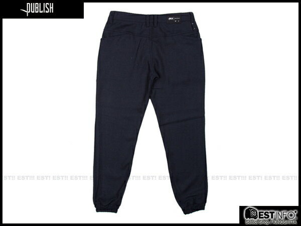 【EST】PUBLISH BRUSWICK JOGGER 束口褲 [PL-5088-165] W28~34 E0930 1