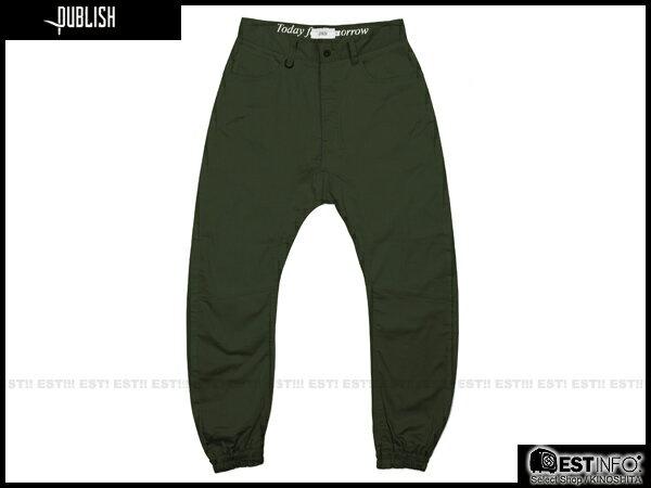 【EST】Publish Kelson Jogger 束口褲 [PL-5091-035] W28~W34 E0930 0